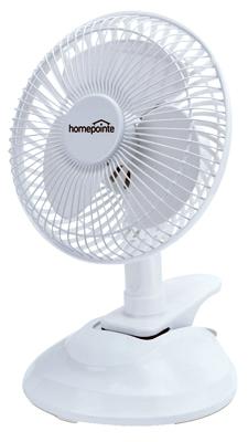 """WP 6""""2SPD Clip Desk Fan"""