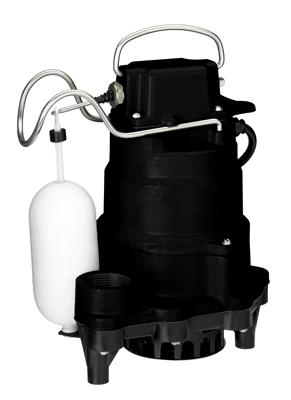 1/2HP 1PC Cast Iron Sump Pump