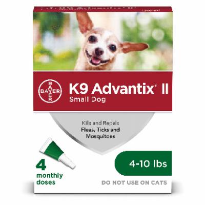 Advantix Small Dog 4-10lb 4pk