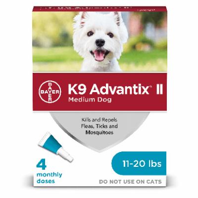 K9 Advantix II, Medium, 4 pk.