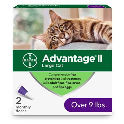 Advantage 9lb and Up Cat 2 pk