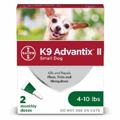 Advantix Small Dog 4-10lb 2pk