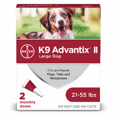 Advantix Large Dog 21-55lb 2pk