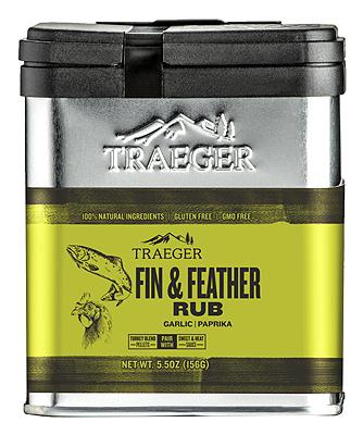 Traeger 5.25OZ Fin/Feather Rub