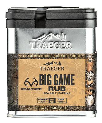 Traeger 7.75OZ RealTree Rub