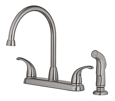 HP NI 2Lev Kitch Faucet 67157-1X