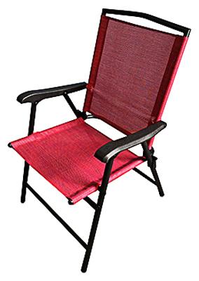 Cornell S True Value Hardware Fs Red Stl Fld Chair