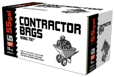 15CT 55G Contractor Bag