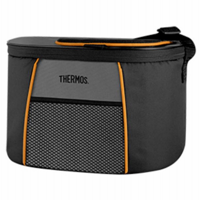 6 Can Black Soft Sided Cooler