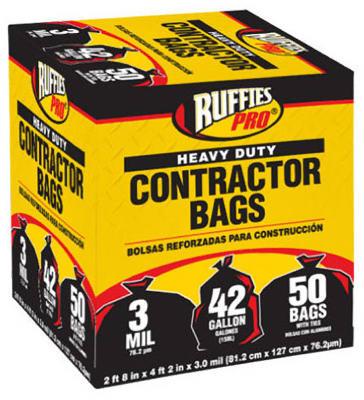 50PK 42GAL Contractor Bag