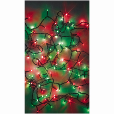 100L Red & Green Starry Lights