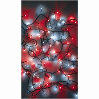 100L Red/White Starry Lights