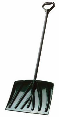 """18"""" Green Poly Snow Shovel"""