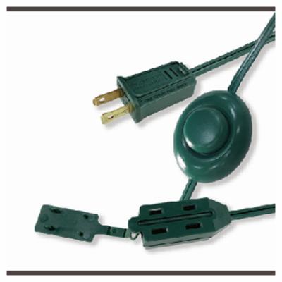 9' 16/2 XMAS EXT Cord 09493