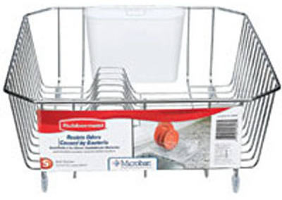 Chrome Twin Sink Drainer
