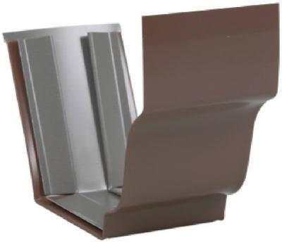 """5"""" Slip Connector Brown Aluminum"""