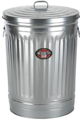 20GAL Galvanized Trash Can