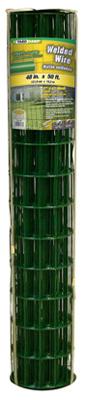 """48""""x50' Green Vinyl Fence"""