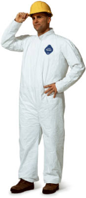 XL WHT Coverall