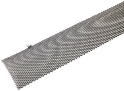 """6""""x3' Mill Finished Gutter Guard"""
