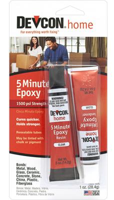 OZ 5 Minute Epoxy