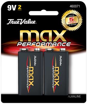 TV 2PK 9V Alkaline Battery