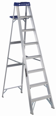 Ladder, Step  8' Aluminum 250#