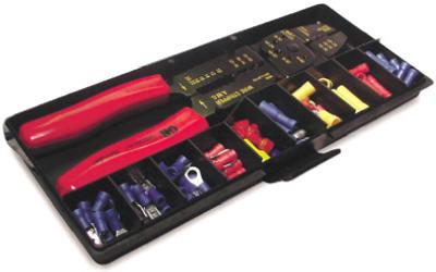 100 Piece Crimping Tool Kit