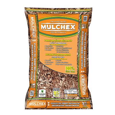2CUFT NAT Cedar Mulch
