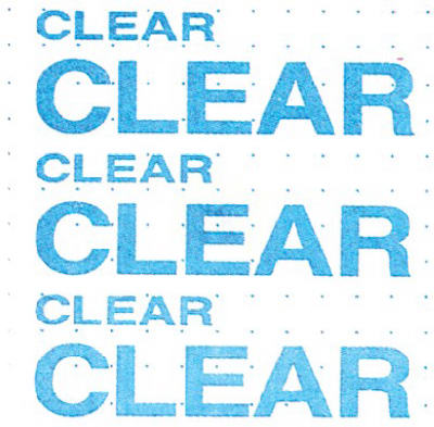Roll Clear Contact Paper