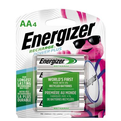 Energizer 4PK AA NiMH Battery
