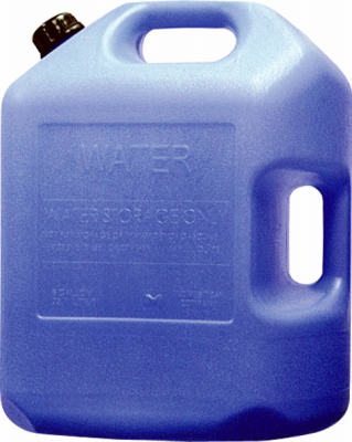 6-Gal. Blue Water Container