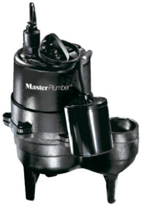 MP 1/2HP Cast Iron Sewage Pump