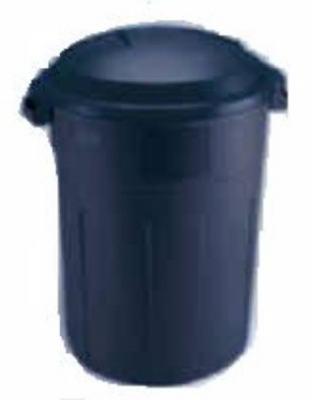 32GAL Blue Trash Can