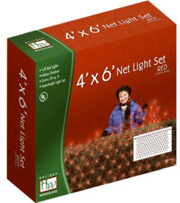 HW150CT RED Net LGT Set