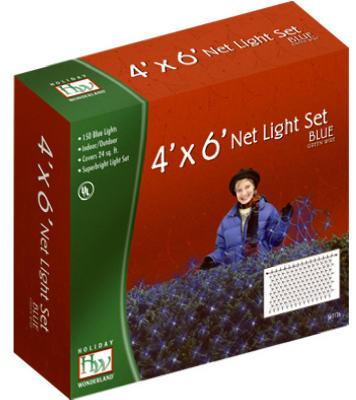 HW150CT BLU Net LGT Set