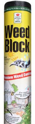 GU350 3'X 50' Weed Block