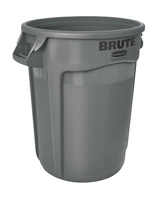 32 GAL GRY Trash Can