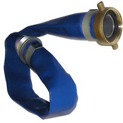 """PVC Water Discharge Hose, 2"""" x 50'"""