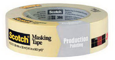 """Masking Tape, Production Painting, 1.41"""" x 60 yd."""