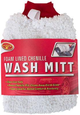 Deluxe Chenille Wash Mitt