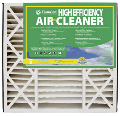 NaturalAire 82655.0451625 Air Filter, 16 in L, 25 in W, 8 MERV