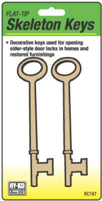 2PK FLT Skeleton Keys          *