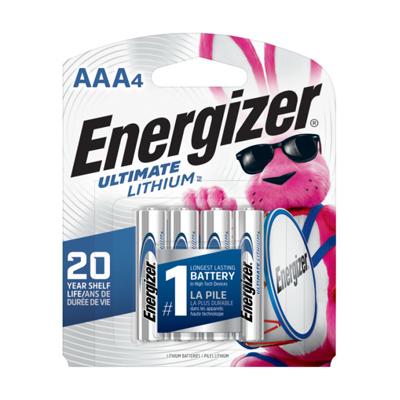 Energizer 4PK AAA Lith Battery