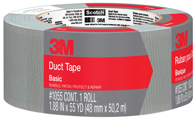 """Duct Tape, Basic, 1.88"""" x 55 yd."""