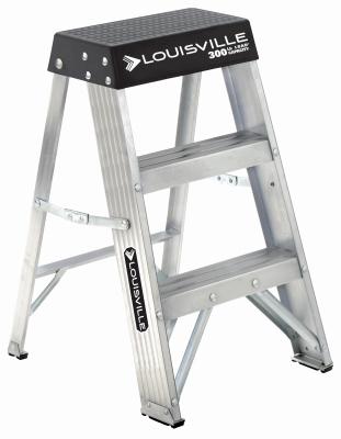Step Stool, 2' Aluminum