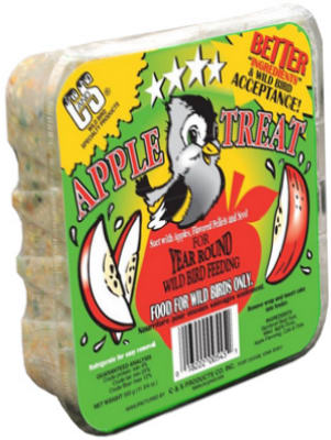 11.75 oz. Apple Suet Cake