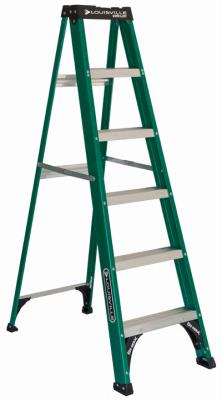 Ladder, Step 6' Fiberglass 225#