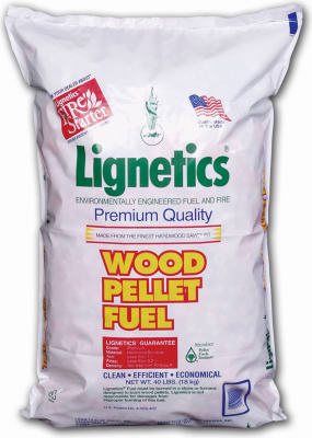 Wood Pellets 40# - Lignetics
