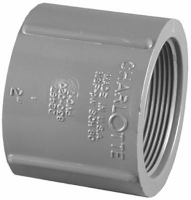 "1"" SCH80 FPT Coupling"